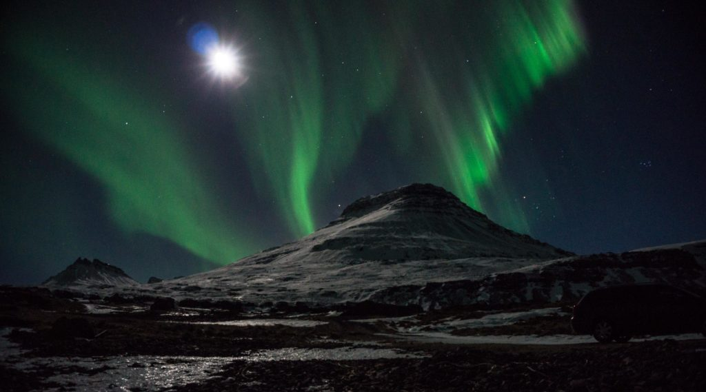 Northern Lights, guided tour, super jeep tour, Iceland, East Iceland