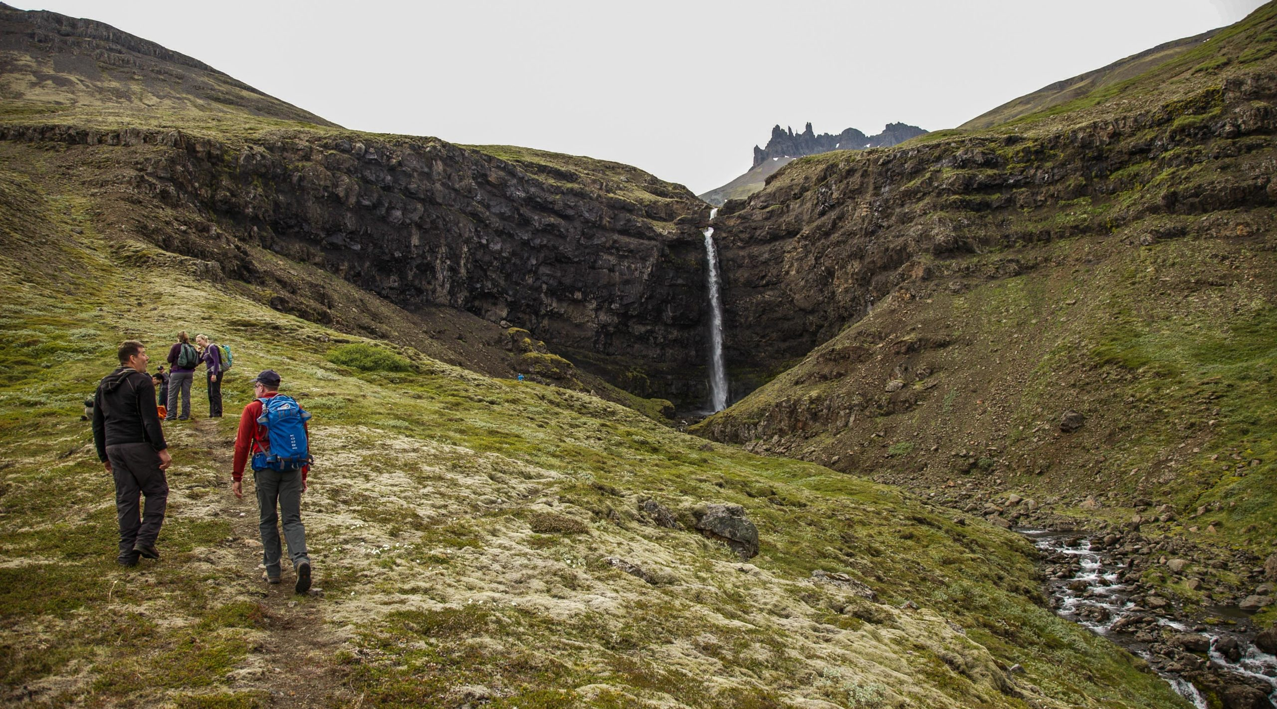 Flögufoss, Waterfall, East Iceland, Breiðdalur, guided tours, super jeep tours, private tours