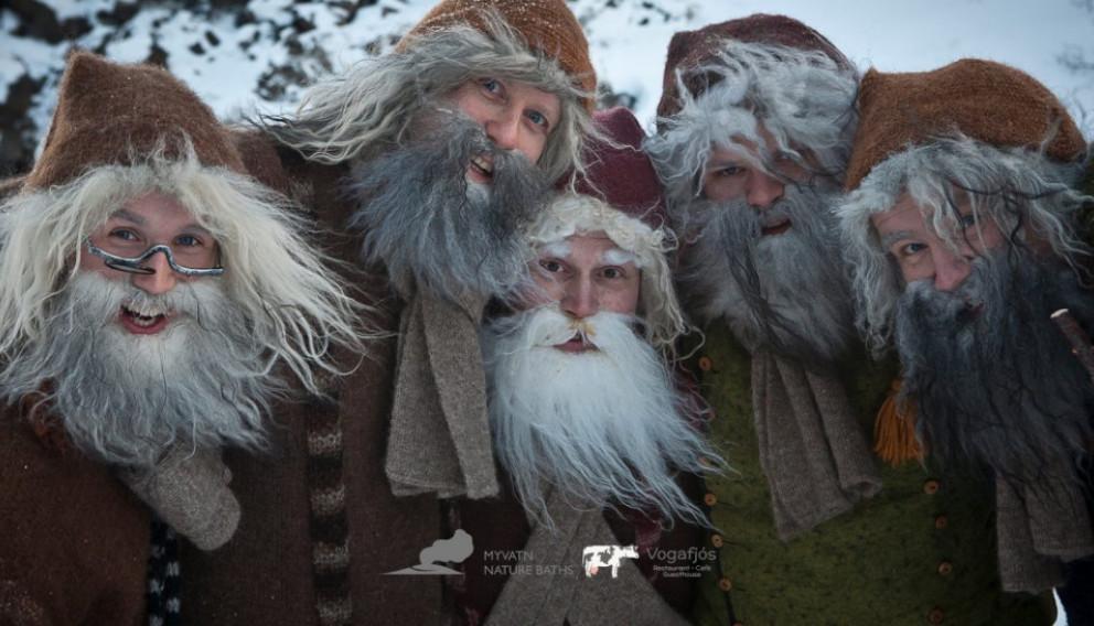 Jólasveinar, Jule-Lads, Santa Claus, Iceland, Icelandic Folklore