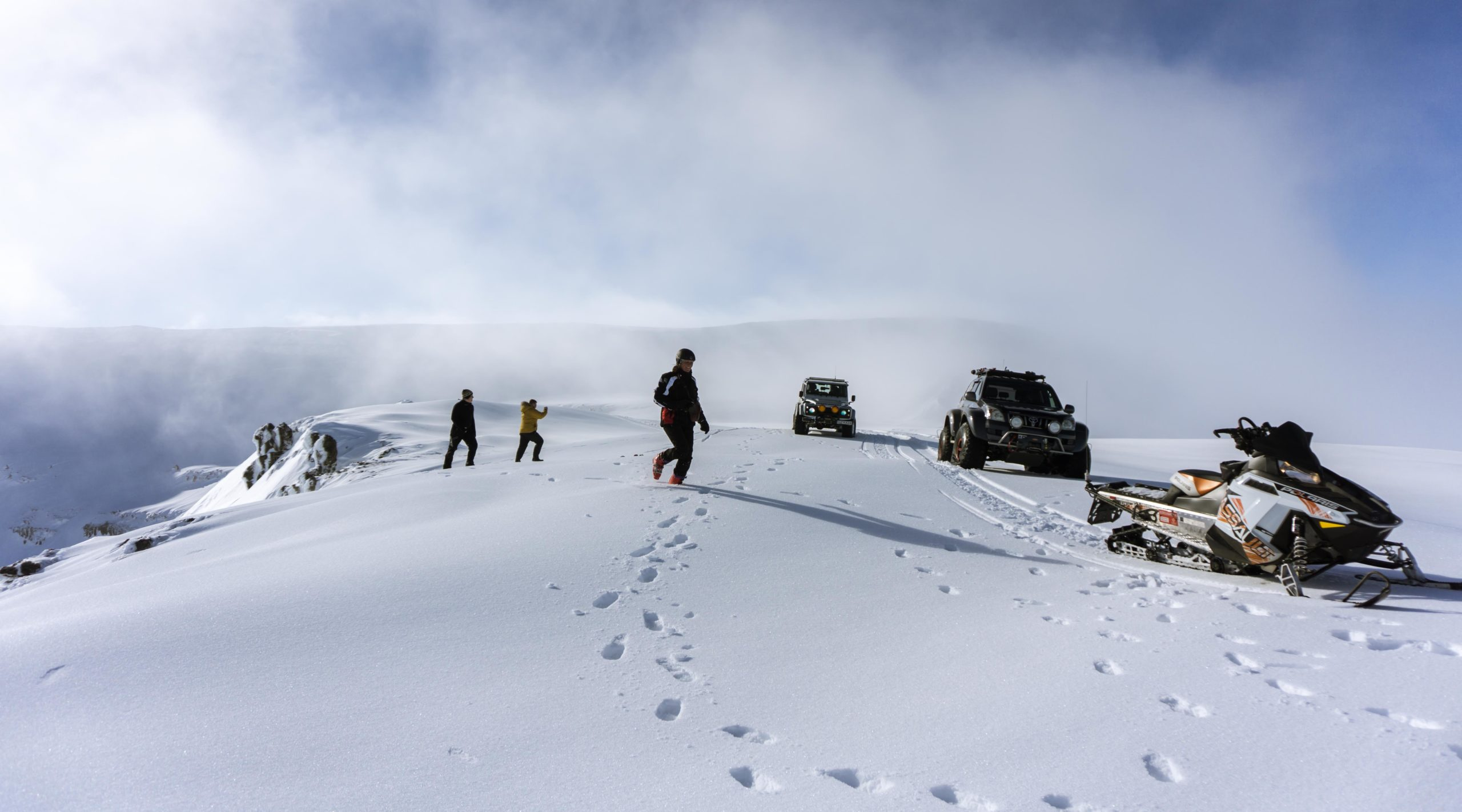 Winter, East Iceland, Iceland, super jeep tour, guided tour