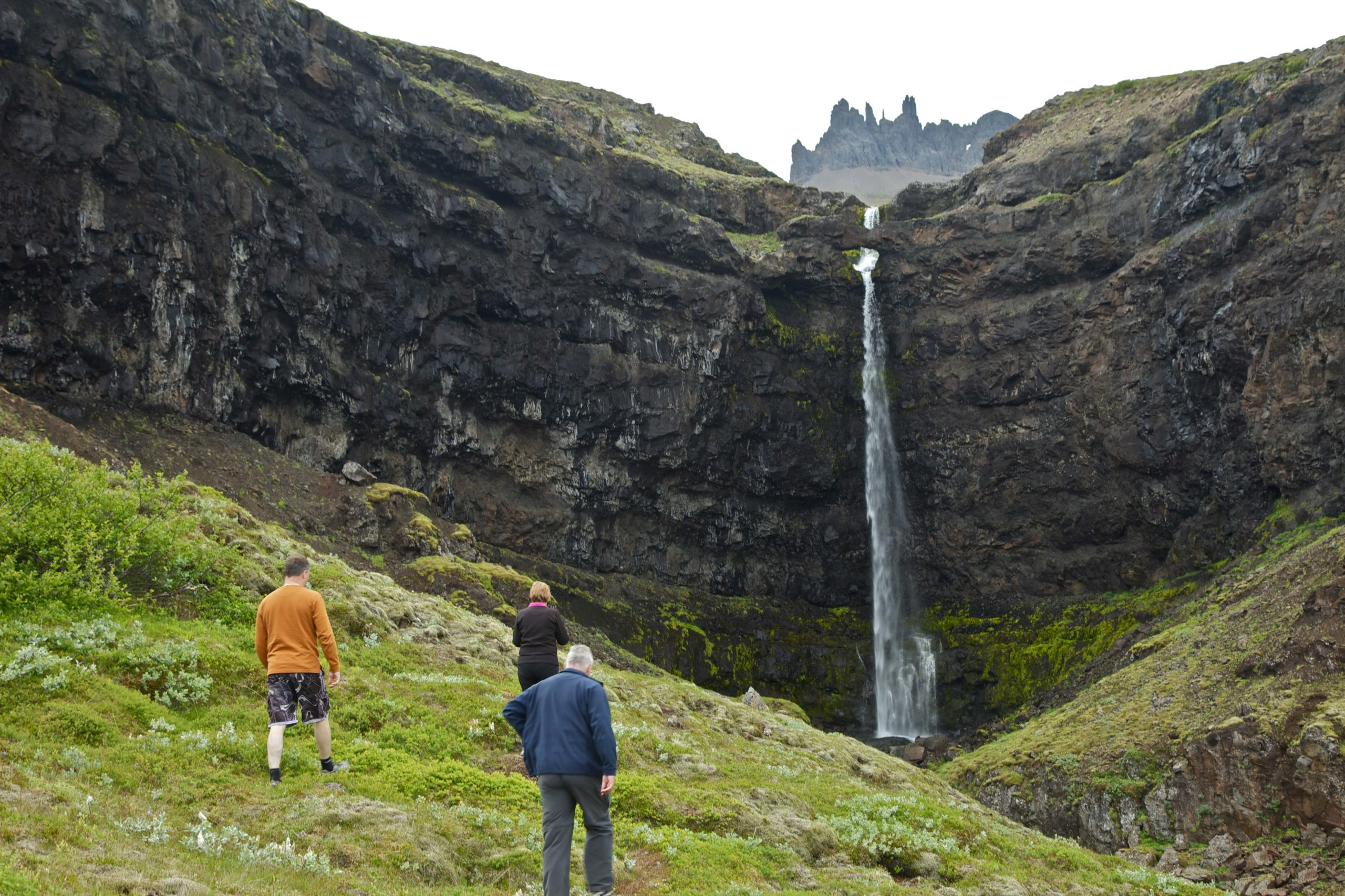valleys and waterfalls, Iceland, East Iceland, Austurland, guided tours, tailored tours, shore excursion, Flögufoss waterfall