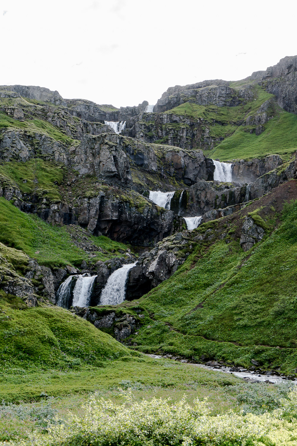 Klifbrekkufossar, Iceland, Mjóifjörður, super jeep tours, guided tours, shore-excursion