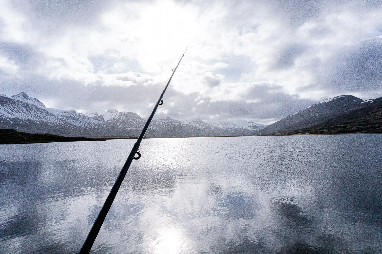 Veiði, veiði í vötnum, fishing, East Iceland, Iceland