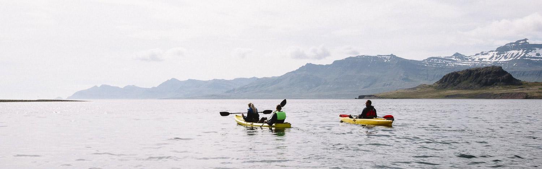 Kayak, Austurland, East Iceland